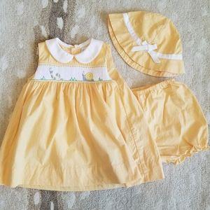Petit Ami 6 month dress set